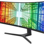 Samsung anuncia el S49A950UIU, un enorme monitor de 49 pulgadas, curvo, con resolución 5K, 120 Hz en pantalla y USB Tipo C