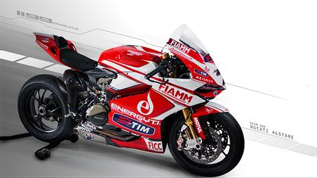 Así es la Ducati Panigale 1199RS de Carlos Checa y Ayrton Badovini