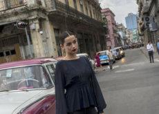 La actriz Ana de Armas también disfrutó de la Cuba de Karl Lagerfeld
