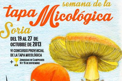 VI Semana de la Tapa Micológica de Soria