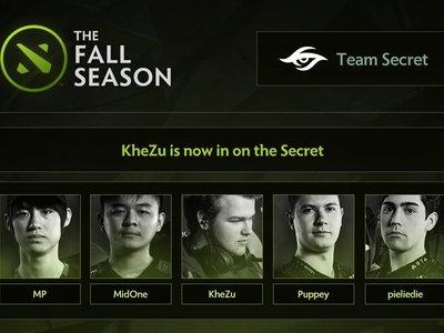 Team Secret sigue dando de qué hablar con sus cambios de última hora: sale Forev y entra Khezu