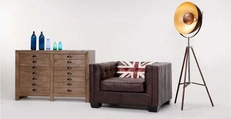 Mezcla el <em>british</em> moderno y el vintage con los muebles y complementos de Made