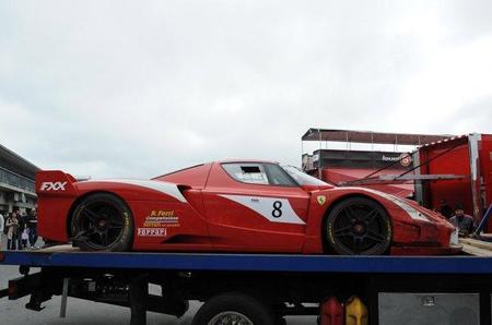 Ferrari FXX Crash