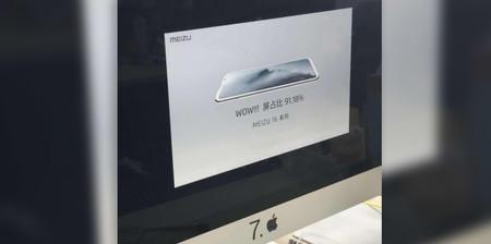 Meizu 16 Diapositiva