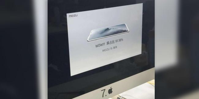 Meizu dieciséis Diapositiva
