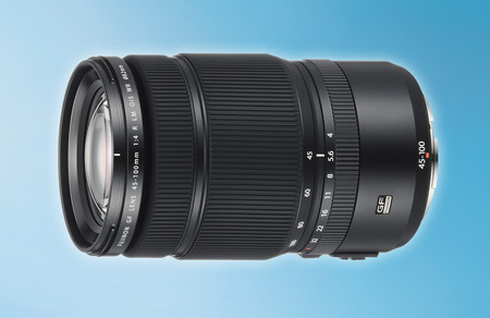 Fujinon GF45-100mm F4 R LM OIS WR, nuevo objetivo zoom (y roadmap actualizado) para el sistema de formato medio de Fujifilm