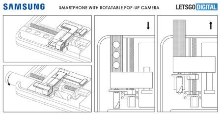 Samsung Galaxy A Camara Pop Up Giratoria 04