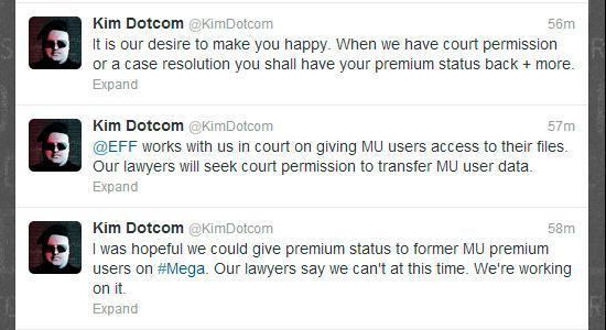 Twitter de Kim Dotcom
