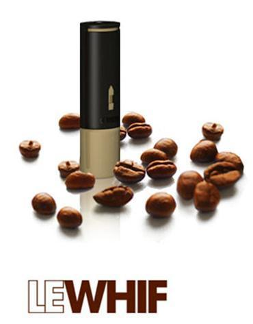 Le Whif Coffee: inhalador de café