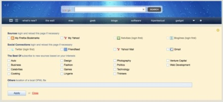 integración con servicios web