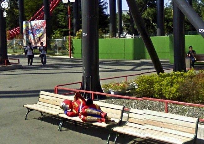 Foto de Google Street View fotos por Jon Rafman (6/32)