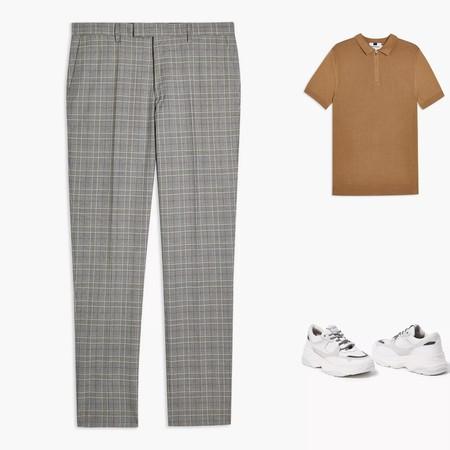 Cinco Looks Que Demuestran Que El Pantalon A Cuadros Te Salvara Todos Los Dias De Otono