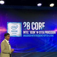 Así es la nueva bestia de Intel para estaciones de trabajo extremas: 28 núcleos, 4.3 GHz, desbloqueado y con TDP de 255W