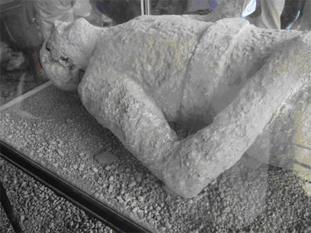Los últimos habitantes de Pompeya