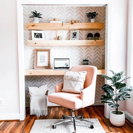 Cloffice, la tendencia para convertir armarios en preciosos despachos si teletrabajas y no tienes espacio en casa