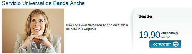 banda ancha universal