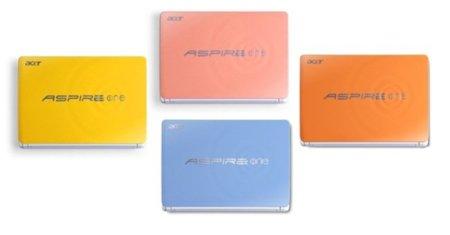 Los Acer Aspire One Happy se ponen más guapos