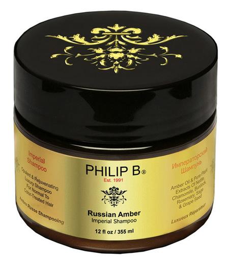 El champu Russian Amber de Philip B