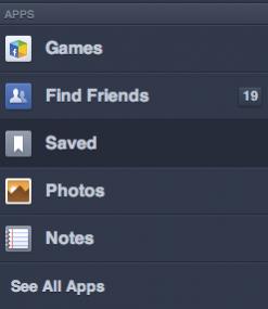 Saved Facebook