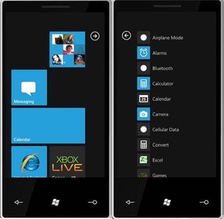 Windows Phone 7 llegará en octubre