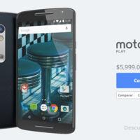 Moto X Play, precio y disponibilidad en México