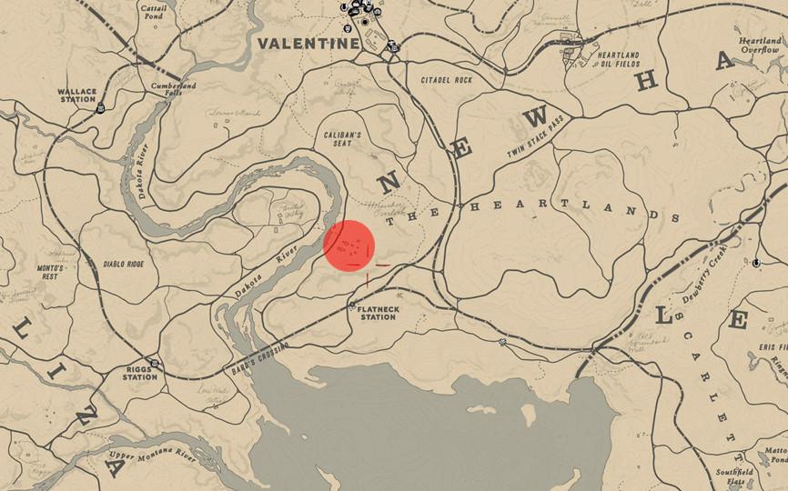 Guía Red Dead Redemption 2 Mapa Y Vídeo Para El Truco De Conseguir 99 Lingotes De Oro Y 50 000 Dólares