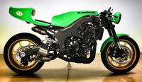 Kawasaki Z1000 by Eric Bostrom, tributo a su héroe, Gary Nixon