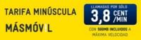 MÁSMÓVIL también regalará 500 MB de internet en su nueva tarifa Minúscula