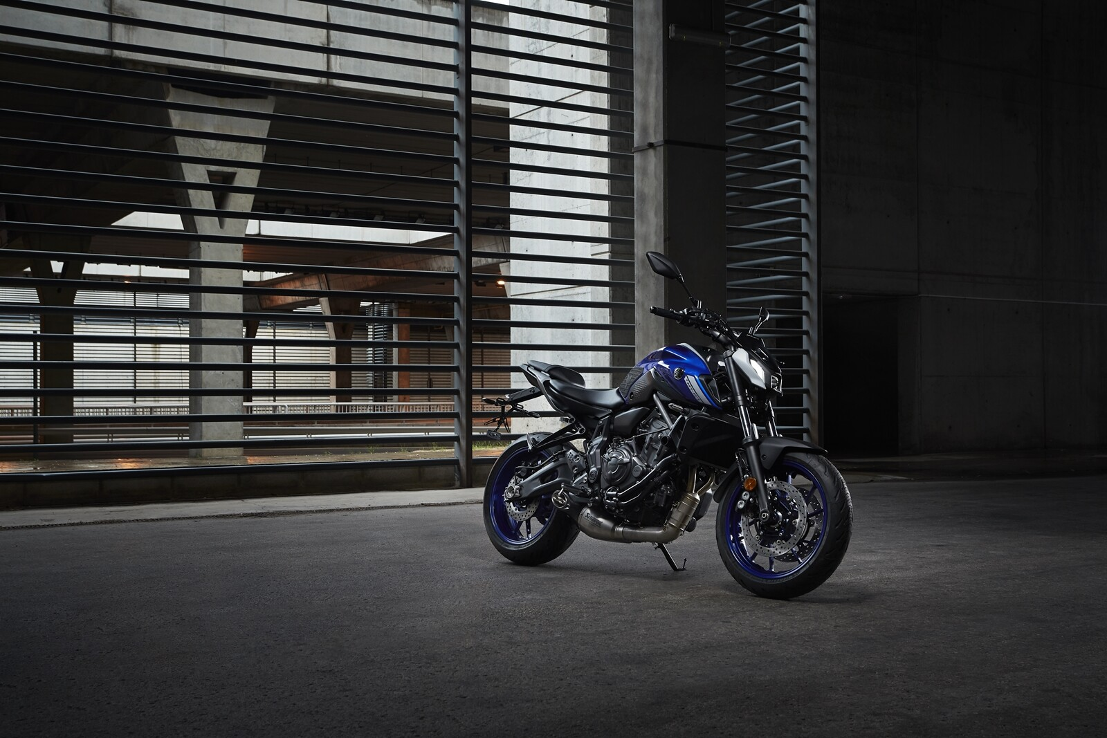 Foto de Yamaha MT-07 2021, prueba (4/75)