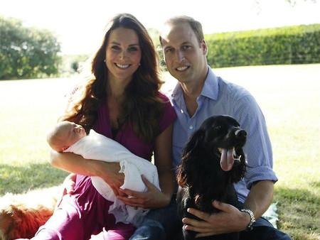 Oig, qué mono el príncipe Jorge en sus fotos oficiales
