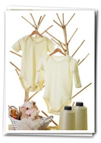 Dermatex, bodys de proteina de soja para bebés