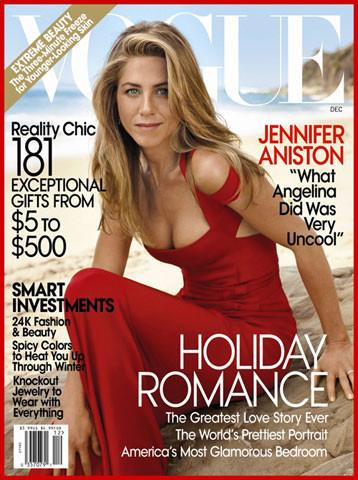 Jennifer Aniston habla de Angelina Jolie