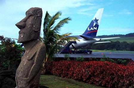 Mataveri: el aeropuerto más remoto del mundo está en la Isla de Pascua
