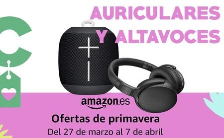 Ofertas de primavera de Amazon: auriculares y altavoces a mejor precio