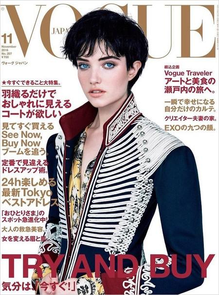 Vogue Japón: Grace Hartzel