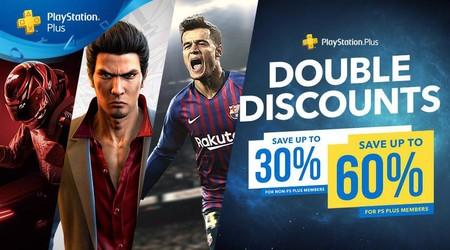Aquí tienes las mejores ofertas de la promoción Descuentos Dobles de PlayStation Plus en juegos para PS4