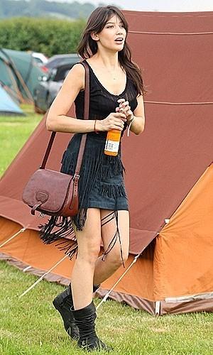 Los looks de las celebrities en Glastonbury 2009: un estilo de festival