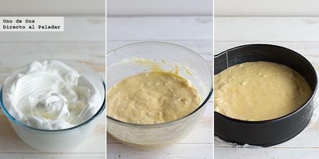 Bizcocho de mantequilla y limón con arándanos. Receta