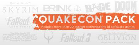 Aprovechando la QuakeCon 2012 tenemos un pack brutal con más de 20 juegos de Bethesda en Steam por menos de 100 euros