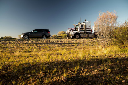 Land Rover Discovery remolque