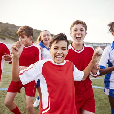 Los deportes en equipo, el mejor antidepresivo para los niños