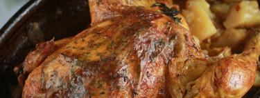 Un pollo asado y siete recetas en las que aprovechar sus sobras el resto de la semana