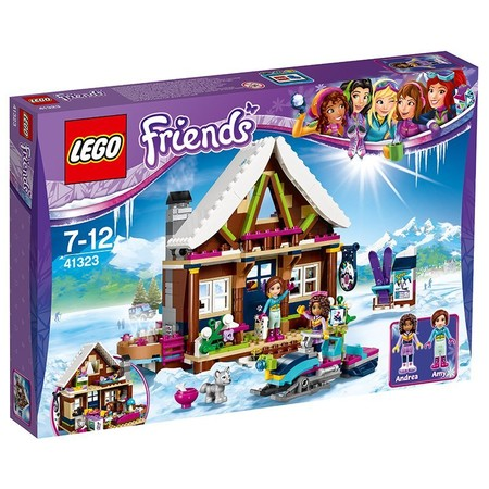 Amazon rebaja el set de Lego friends Estación de esquí: Cabaña a 38,16 euros con envío gratis