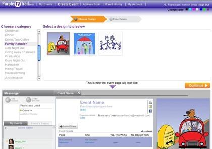 Purpletrail, planificando nuestros eventos de forma colectiva y gestionando invitaciones