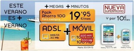 Jazztel mejora su oferta combinada de ADSL y móvil durante el verano