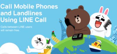 LINE para Android se actualiza y permite hacer llamadas a números fijos y móviles de México