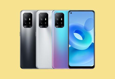 OPPO A95 5G: un ligerísimo móvil a la última en conectividad y vitaminado con pantalla AMOLED