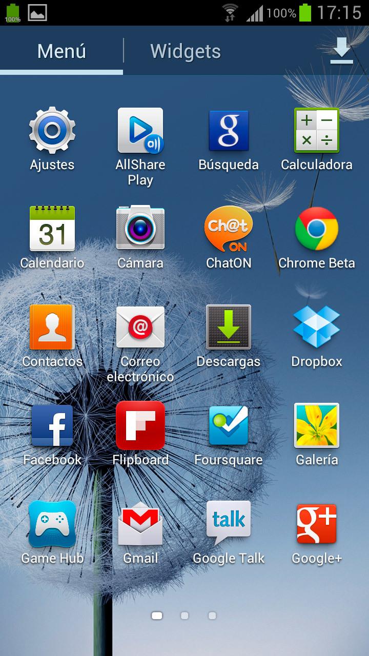 Foto de TouchWiz Samsung Galaxy S3 (11/16)