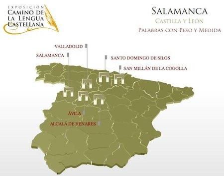 Exposición virtual del Camino de la Lengua Castellana