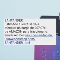 Cómo obtienen tu teléfono los estafadores que te envían SMS con phishing haciéndose pasar por Santander, Correos o Amazon